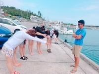 [海中道路]にこちゃんパラセーリング☆ロープ100mプラン